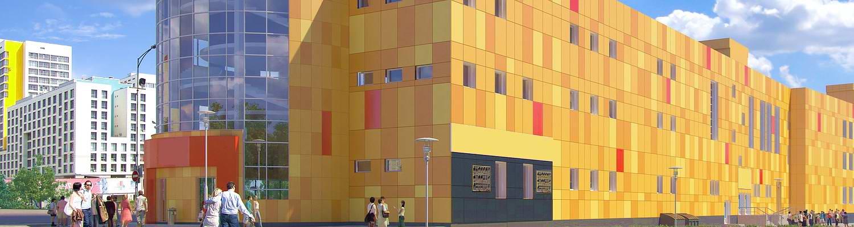 Архитектура и интерьеры АЛЮТЕХ в Череповце
